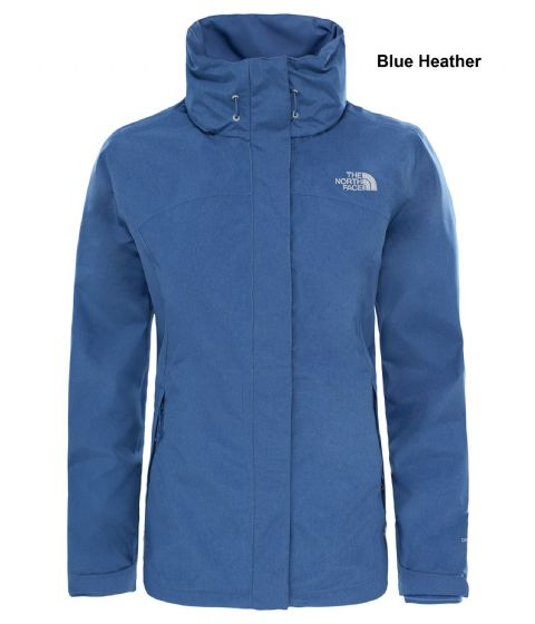 The North Face Womens Sangro Jacket - Waterproof / Breathable - Blue Heather XS and M Only